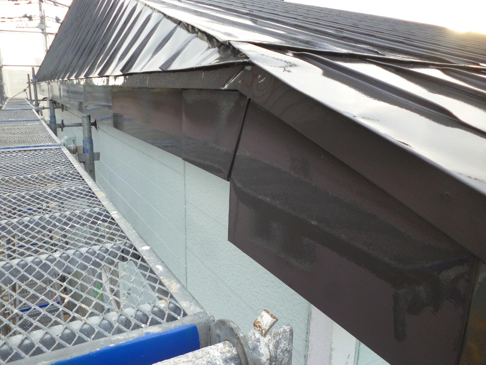 貝塚コーポサンライト 屋根 上塗10
