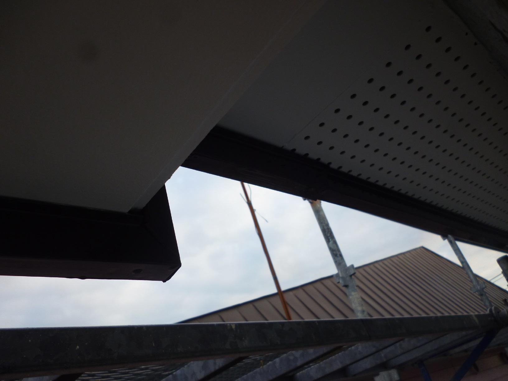 貝塚コーポサンライト 屋根 上塗11