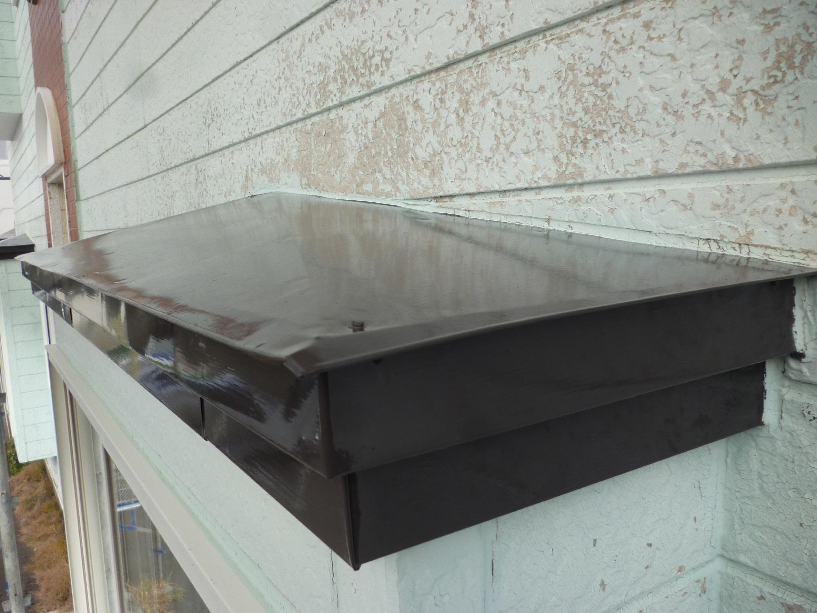 貝塚コーポサンライト 屋根 上塗12