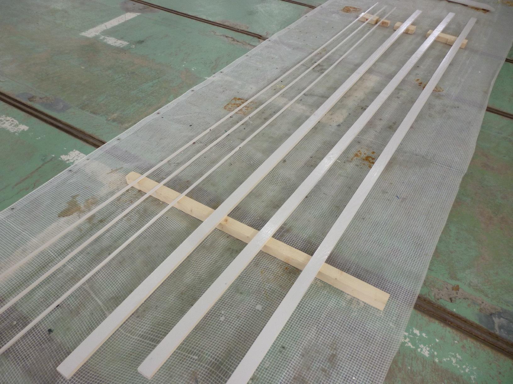 トヨタカローラ 木部塗装2