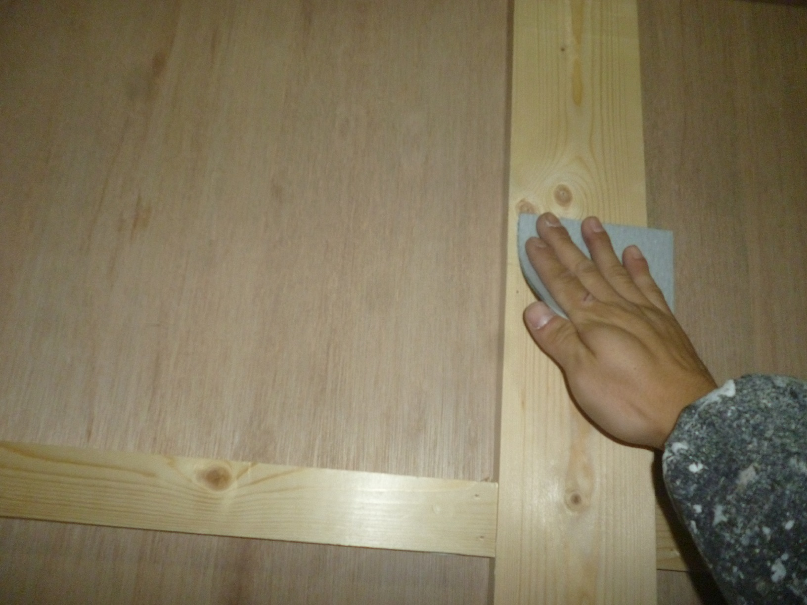 モンキーパンチコレクション 作業部屋木部 下処理4