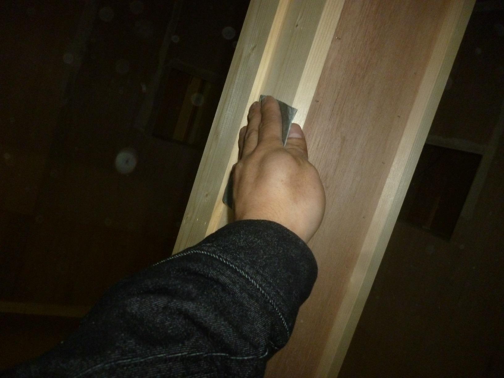 モンキーパンチコレクション 作業部屋木部 下処理5