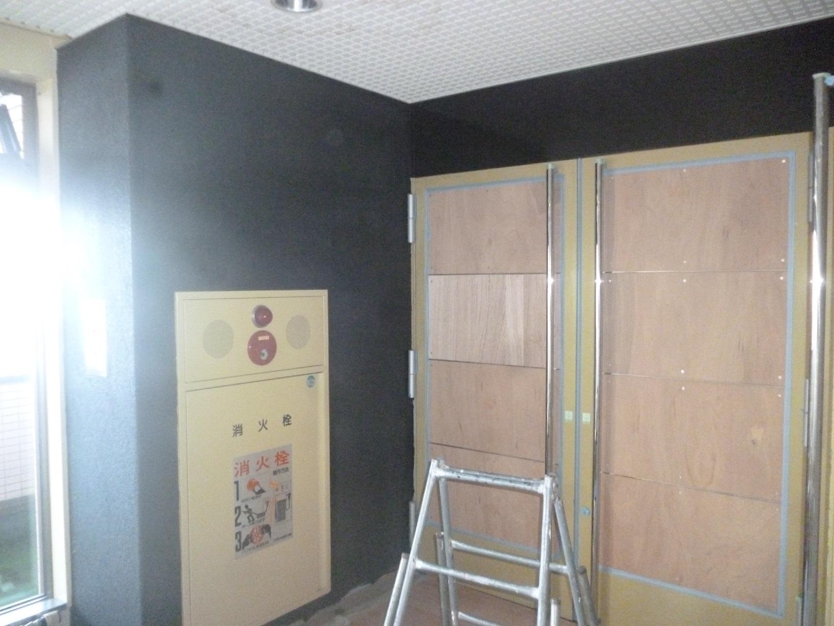 モンキーパンチコレクション 出入口壁 上塗3