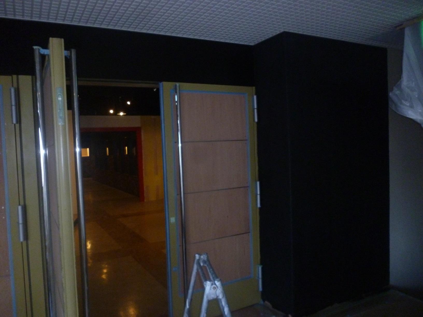 モンキーパンチコレクション 出入口壁 上塗4
