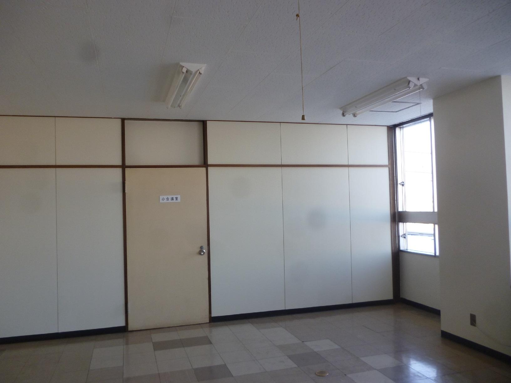 丸中青果 会議室  壁 仕上げ9