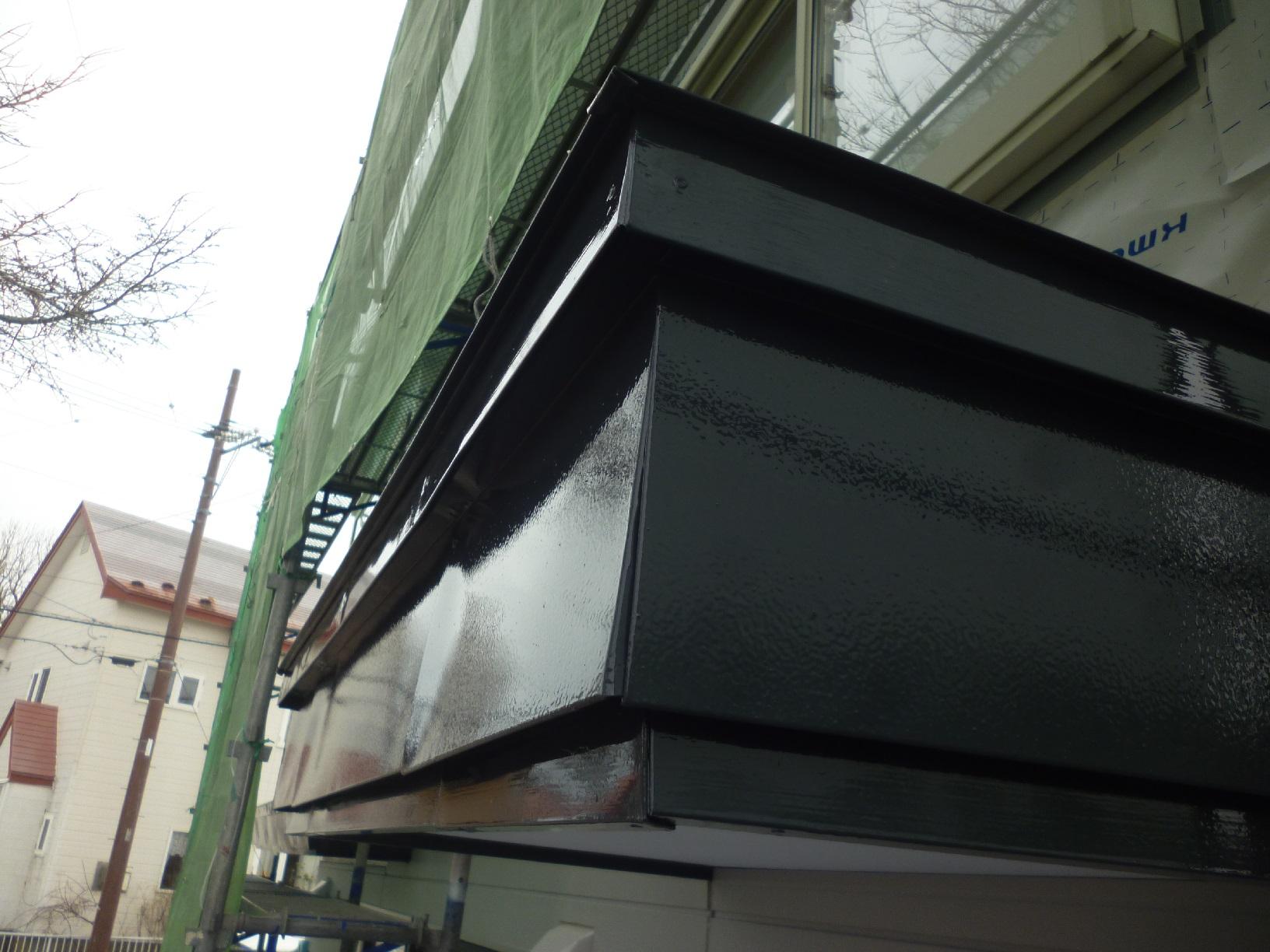 米町モンクール 屋根 上塗14