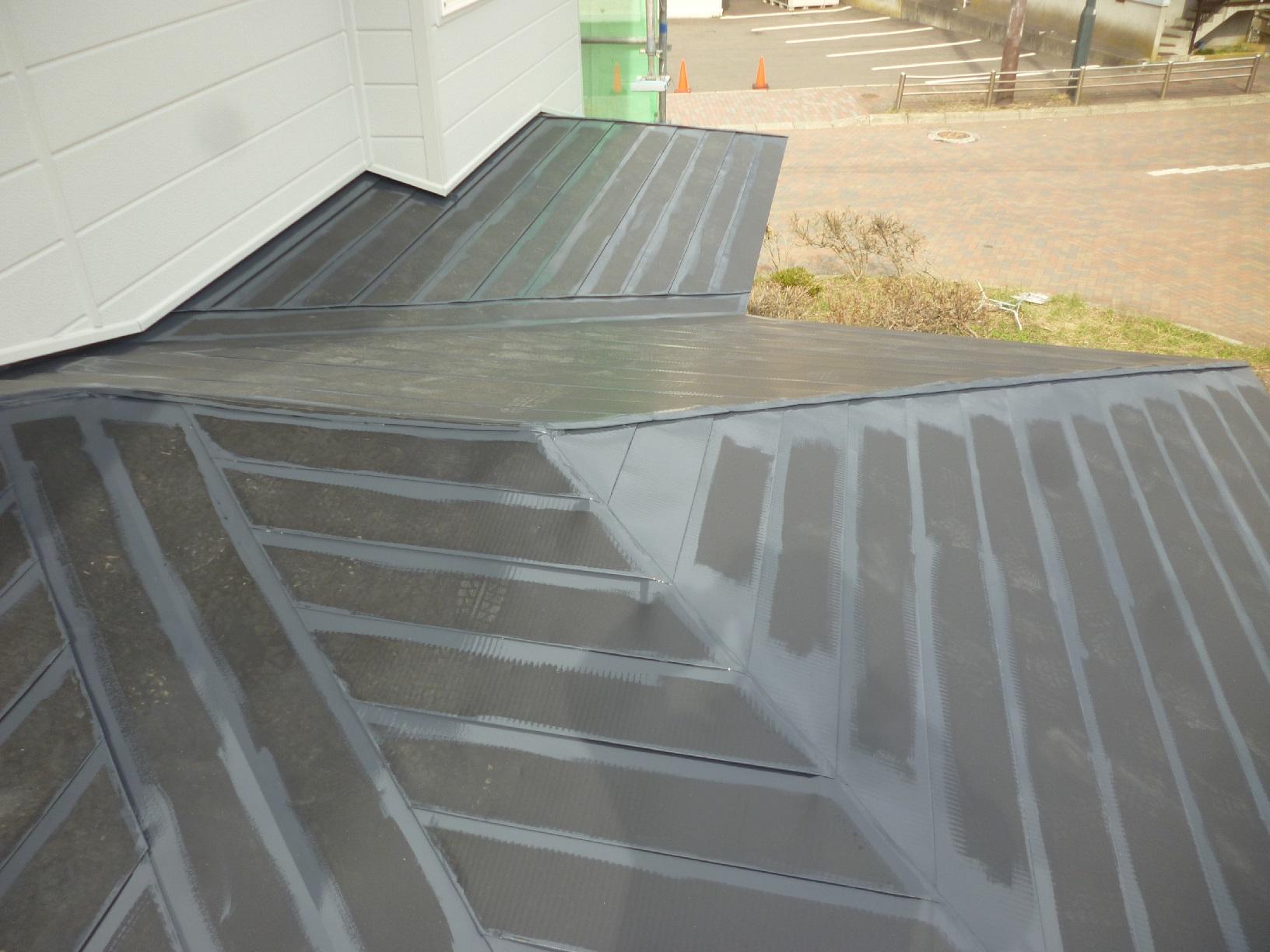 米町モンクール 屋根 上塗16