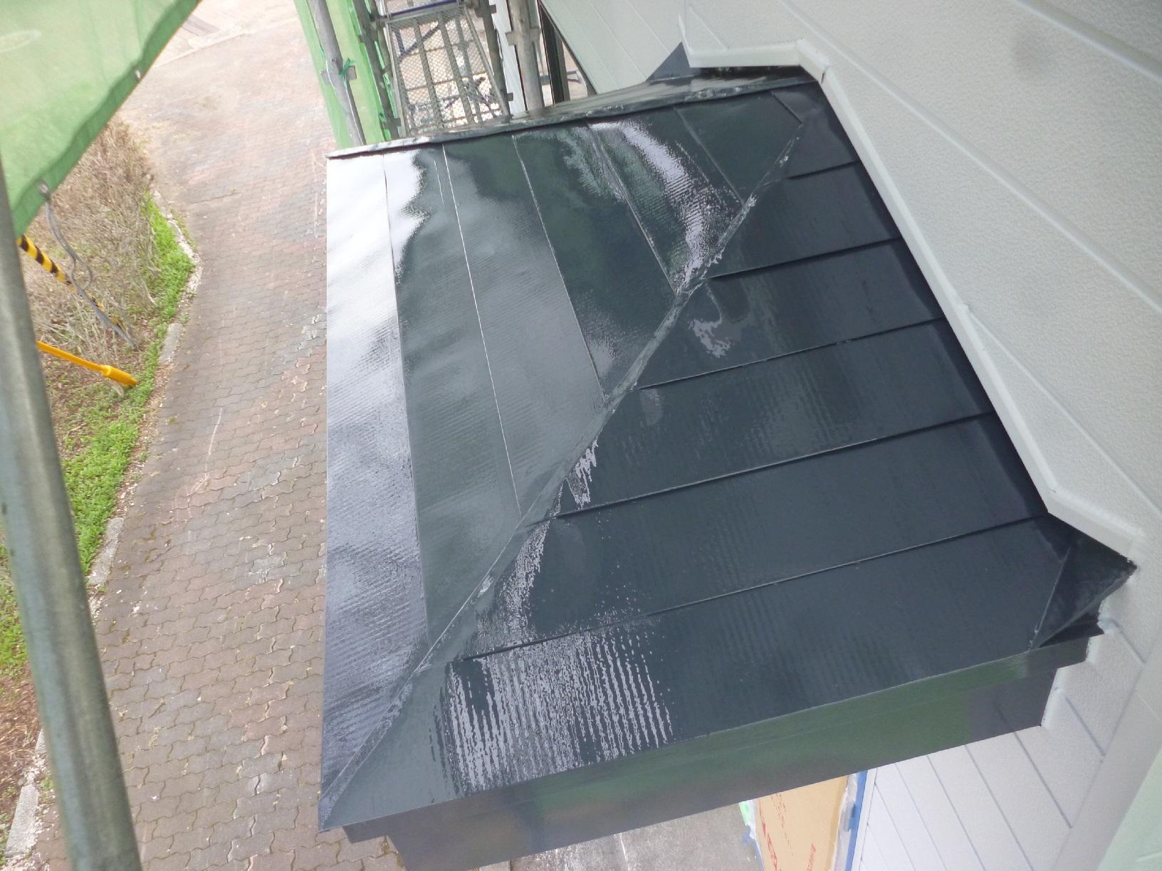 米町モンクール 屋根 上塗24