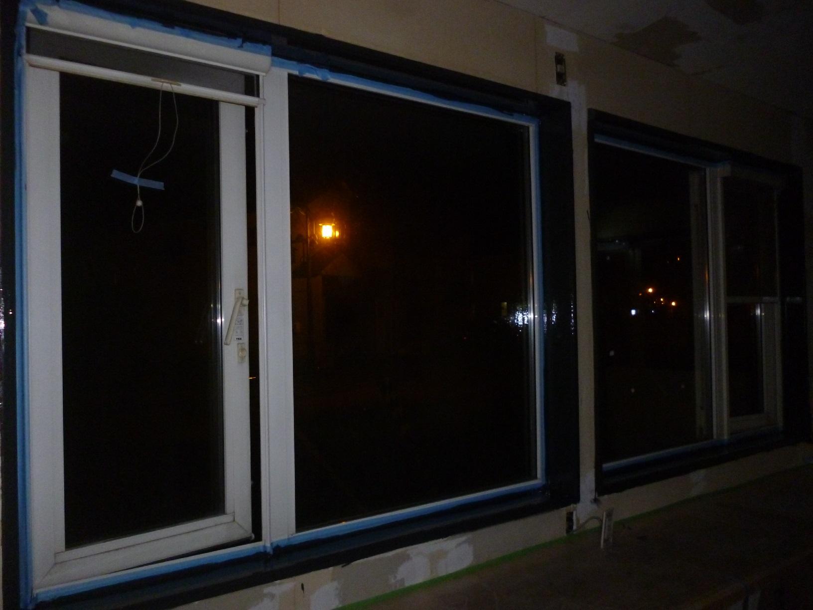 米町モンクール 窓枠 上塗3