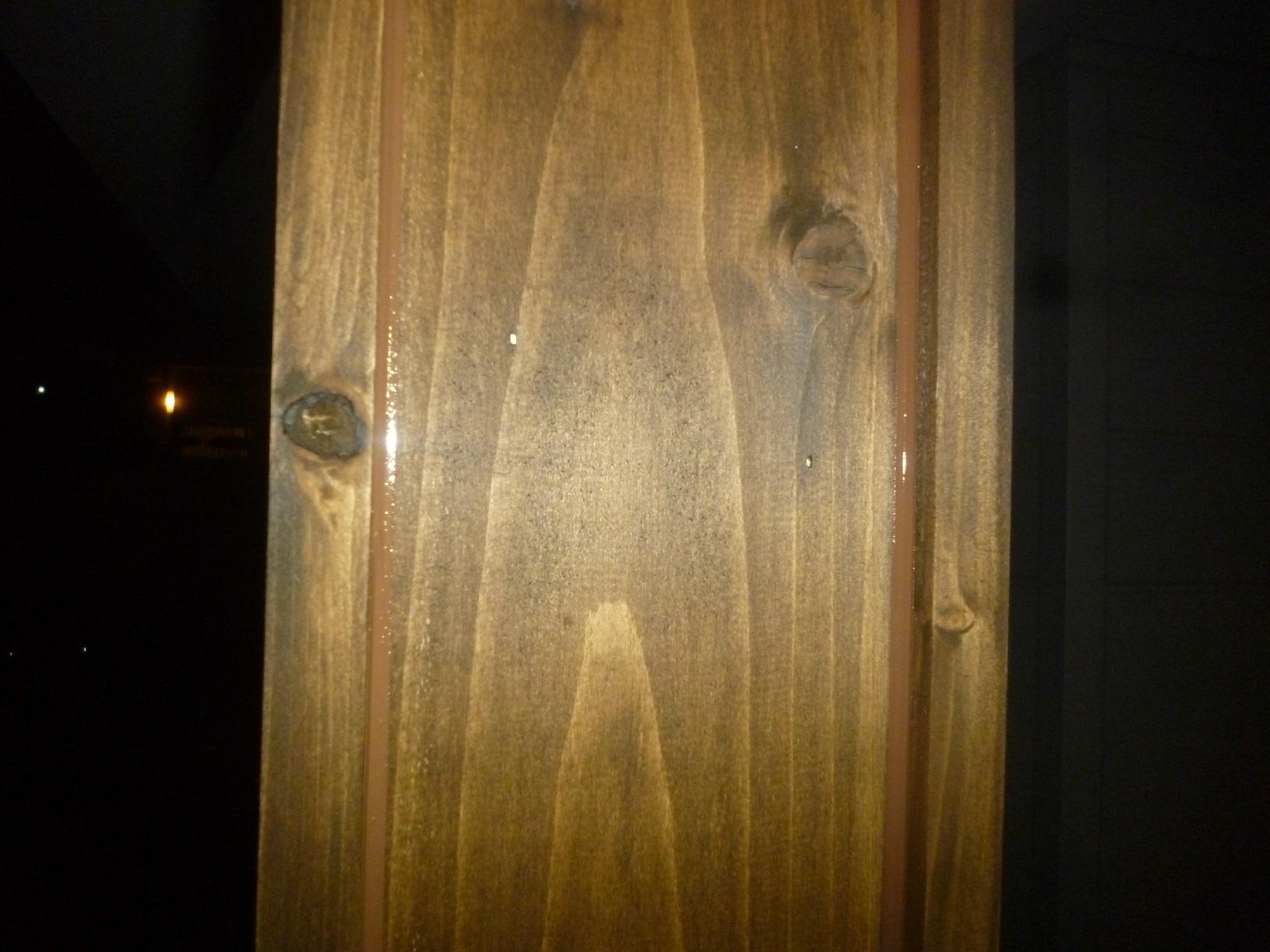 米町モンクール 玄関前柱 コーキング5