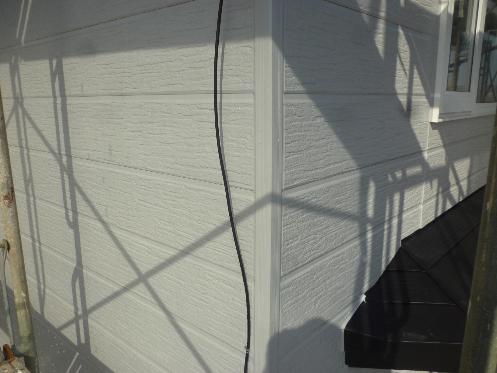 文苑T様邸 外壁 上塗3
