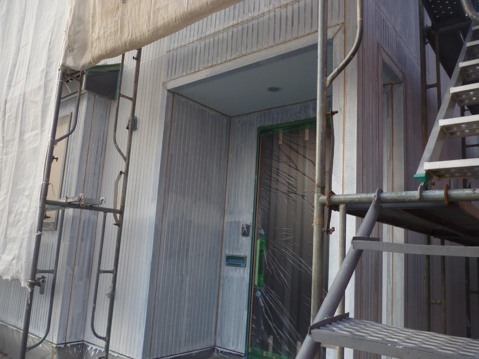 北都K様邸 外壁 下塗6