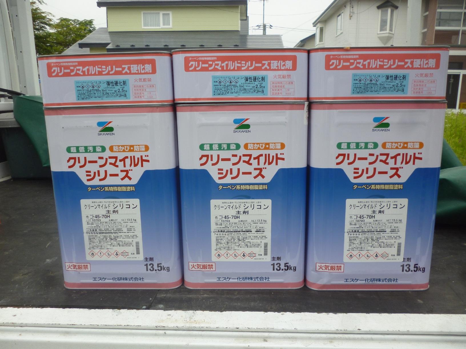 幌呂Y様邸 使用材料4