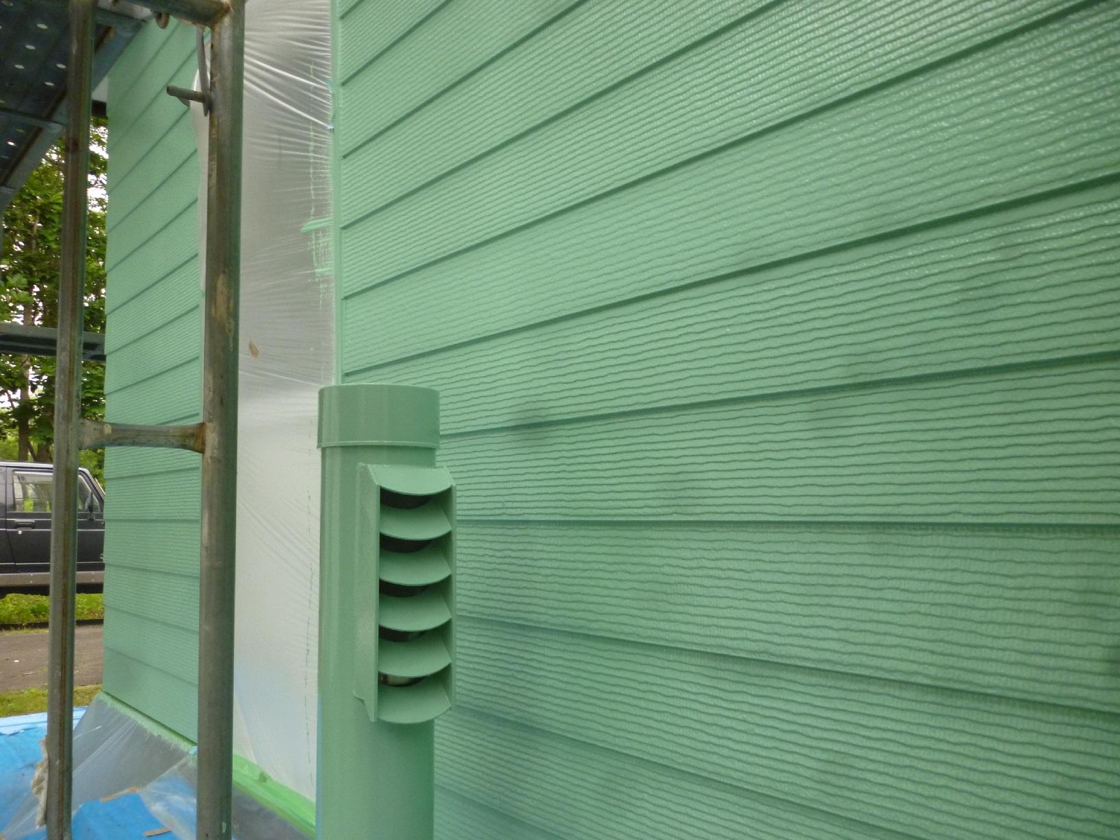 幌呂Y様邸 外壁 上塗8