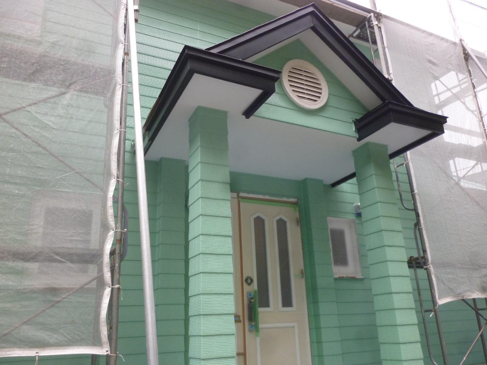 幌呂Y様邸 外壁 上塗9