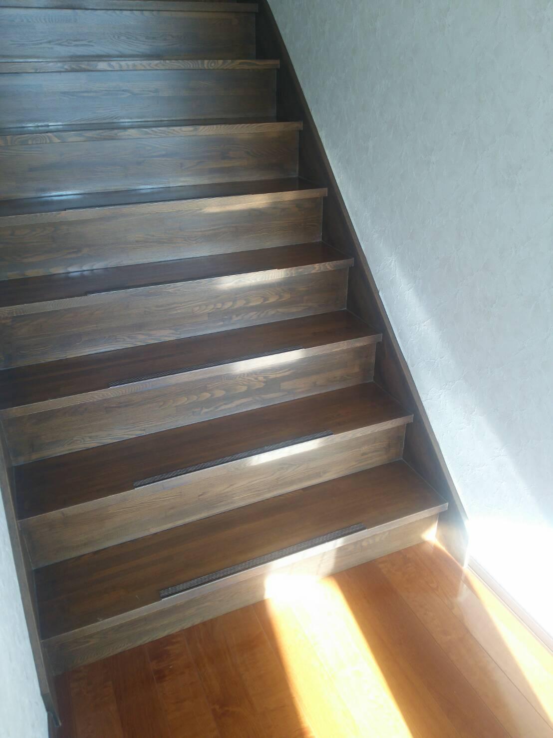 厚岸 木製階段